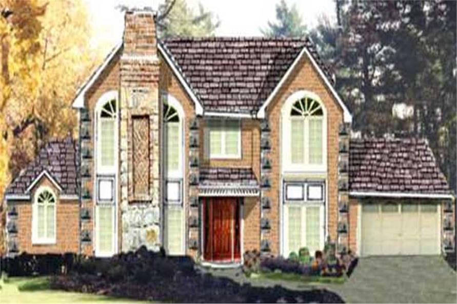 Main image for house plan # 9923