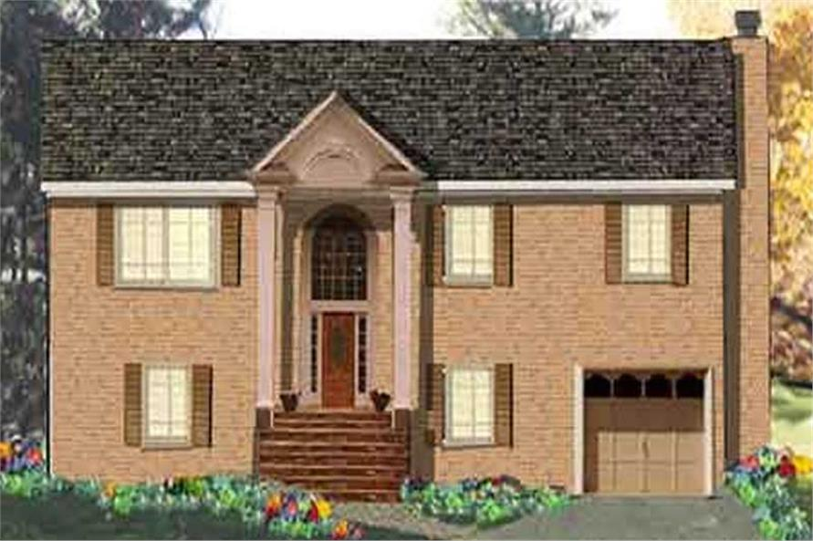 4-Bedroom, 1785 Sq Ft Ranch Home Plan - 105-1101 - Main Exterior