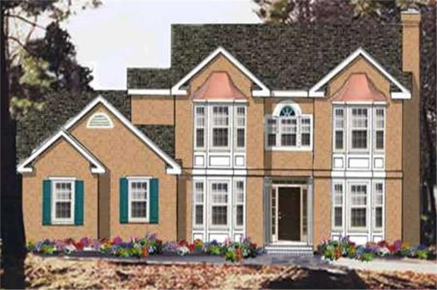 Main image for house plan # 9816