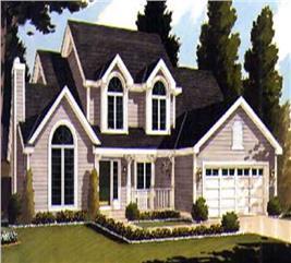 House Plan #105-1105