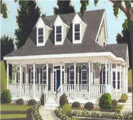 House Plan #105-1106