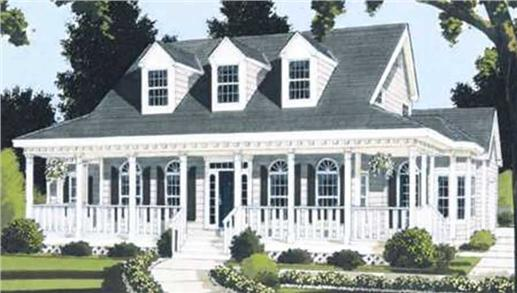 Main image for house plan # 9802