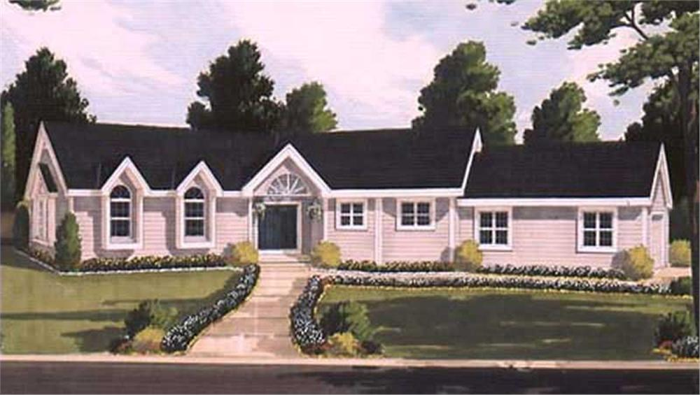Main image for house plan # 9795