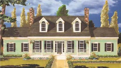 Main image for house plan # 9794