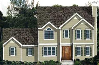 4-Bedroom, 1948 Sq Ft House Plan - 105-1118 - Front Exterior