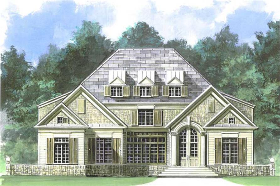Main image for house plan # 15960
