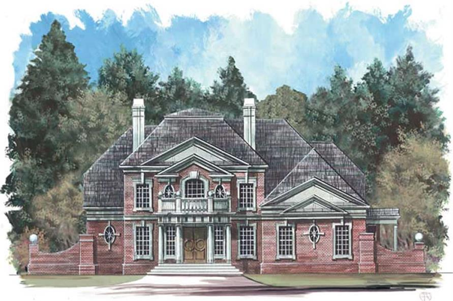 Main image for house plan # 15957
