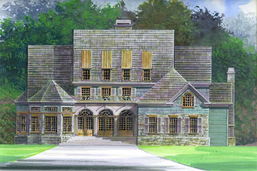 Main image for house plan # 15932