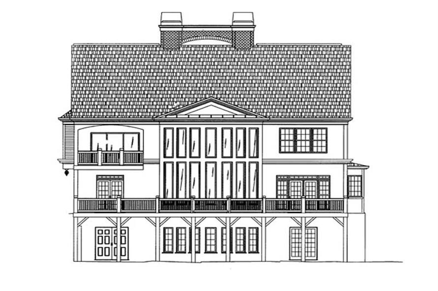 House Plan #106-1015