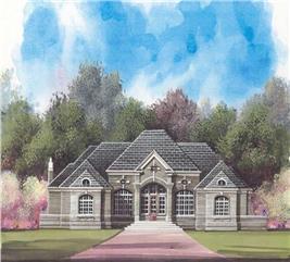 House Plan #106-1023