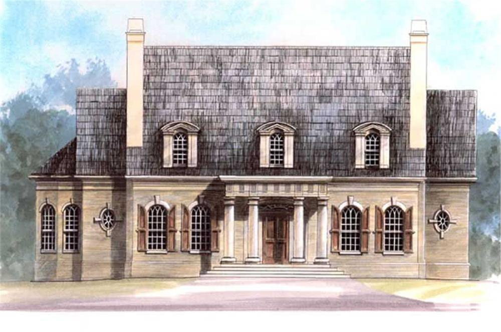 Main image for house plan # 16085
