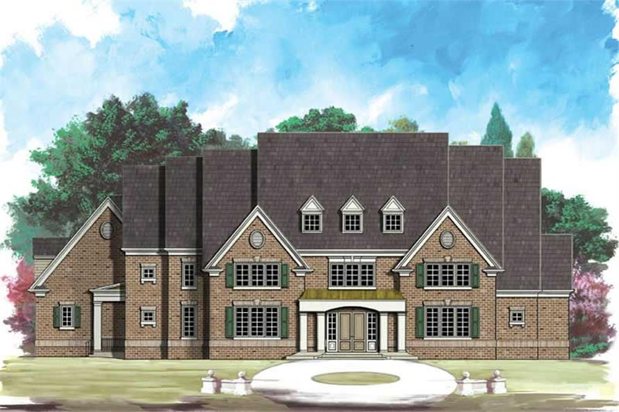 Main image for house plan # 16156