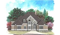 Main image for house plan # 16076