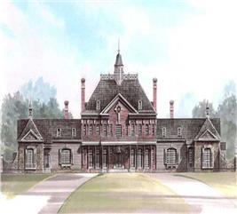 House Plan #106-1041