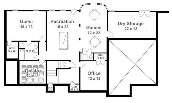 Log Cabin Home With 4 Bedrooms 2963 Sq Ft Floor Plan