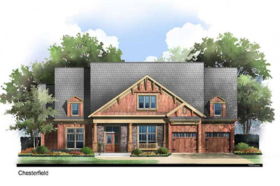 Main image for Log house plans # 17681