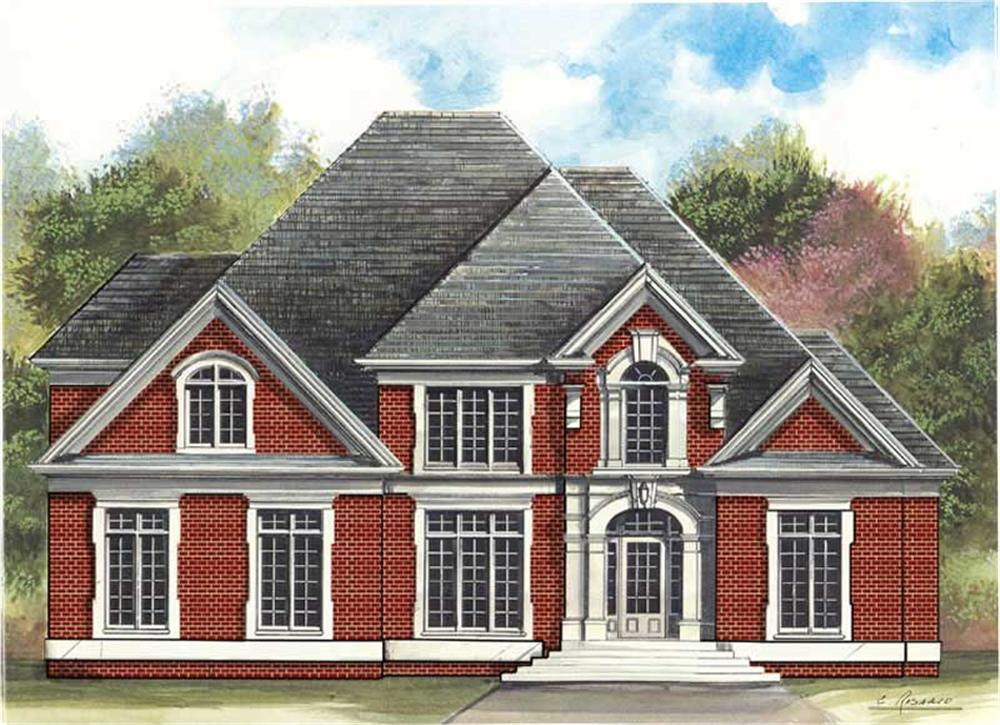 Main image for house plan # 16016