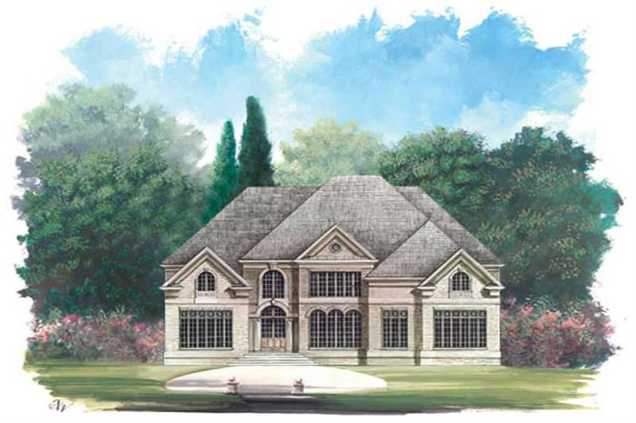 Main image for house plan # 15963