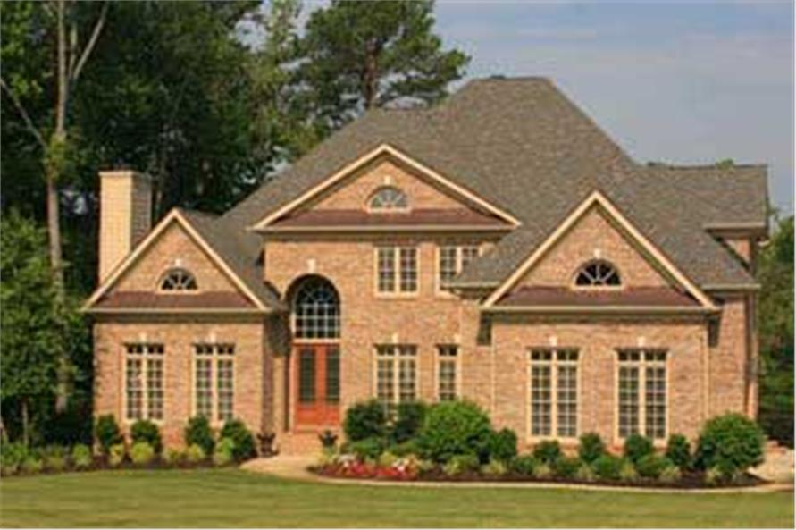 Home Exterior Photograph of this 4-Bedroom,3620 Sq Ft Plan -3620