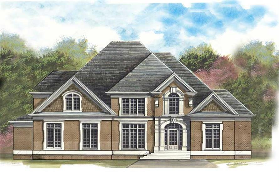 Main image for house plan # 16043
