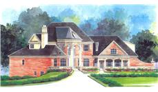 Main image for house plan # 16129