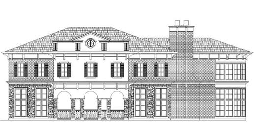 Main image for house plan # 16130