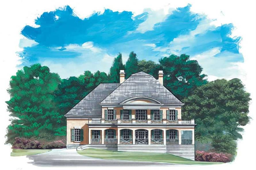 Main image for house plan # 16064