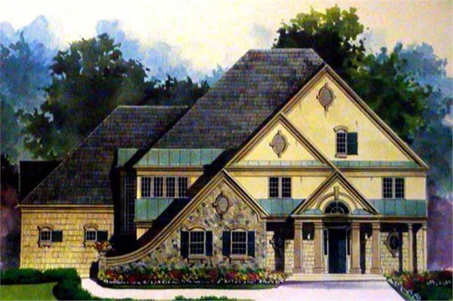 Main image for house plan # 16059
