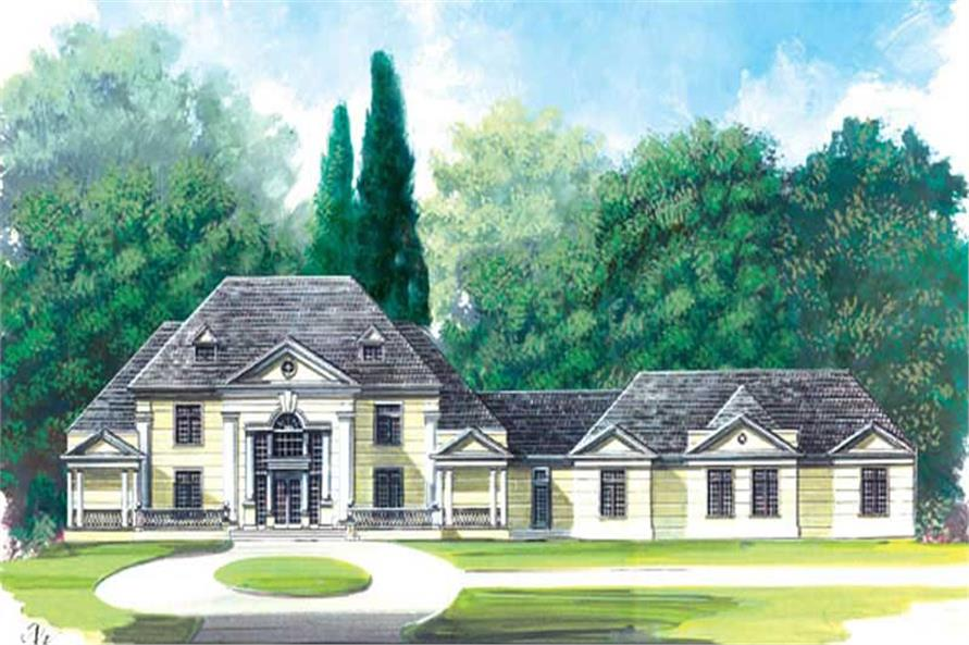 Main image for house plan # 16120