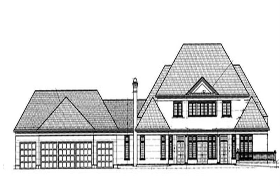 House Plan #106-1062