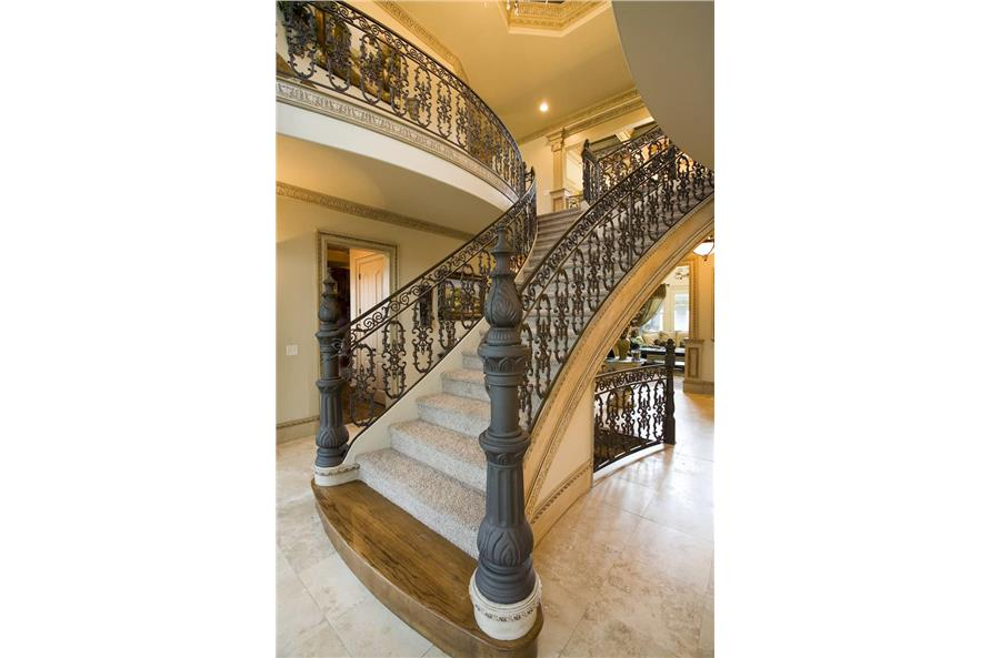 Stairs of this 5-Bedroom,5083 Sq Ft Plan -106-1063