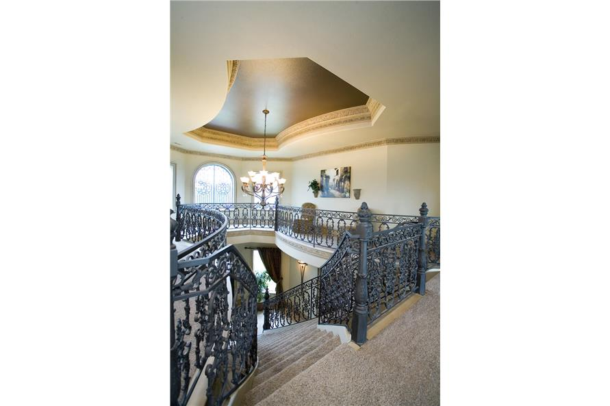 Entry Hall: Foyer of this 5-Bedroom,5083 Sq Ft Plan -106-1063
