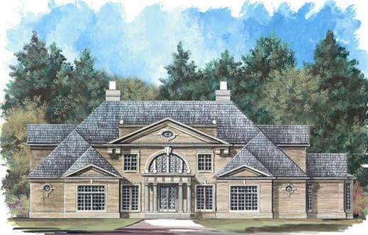 Main image for house plan # 16159