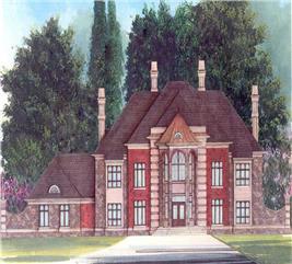 House Plan #106-1069