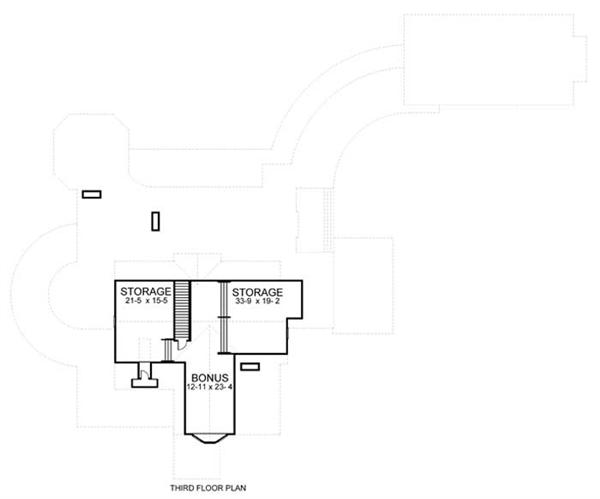 Floor Plan Third Story