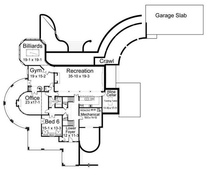 House Plan 106 1070 5 Bedroom 6728 Sq Ft Colonial European