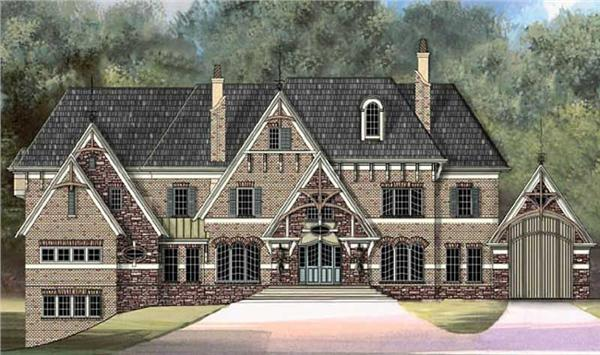 Main image for house plan # 16184