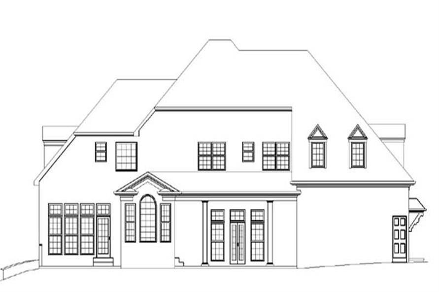 House Plan #106-1073