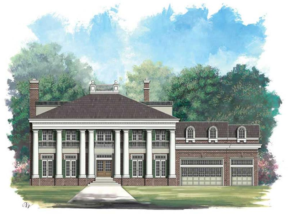 Main image for house plan # 16173