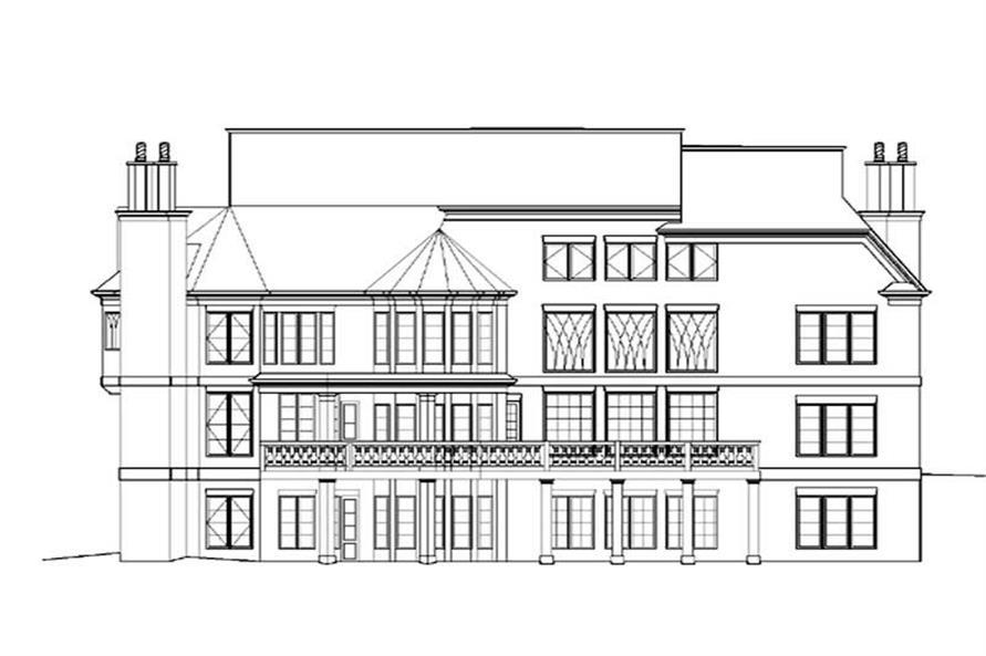 House Plan #106-1076