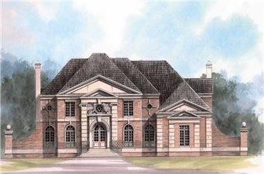 Main image for house plan # 16119