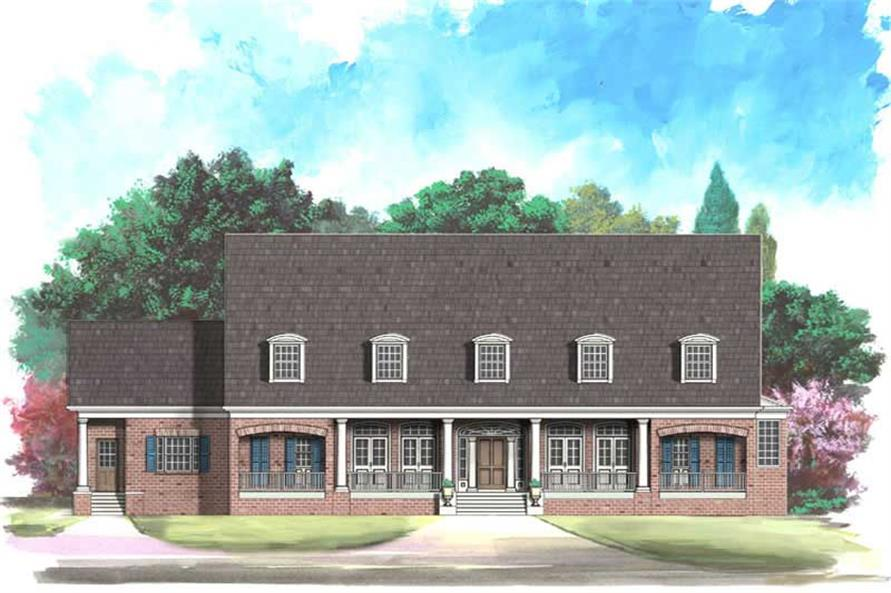 Main image for house plan # 16123