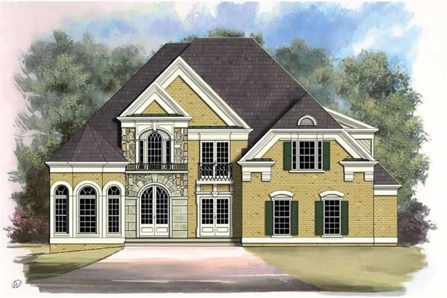 Main image for house plan # 15988