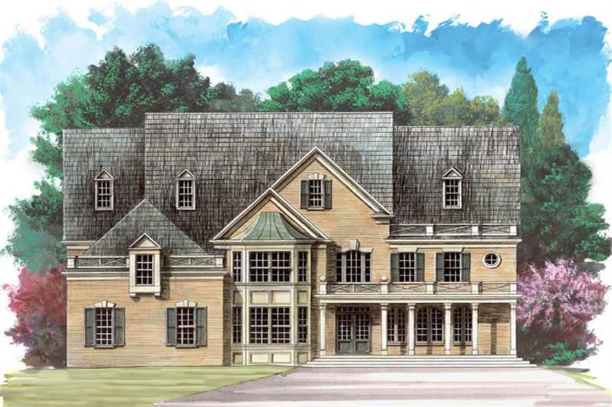 Main image for house plan # 16122