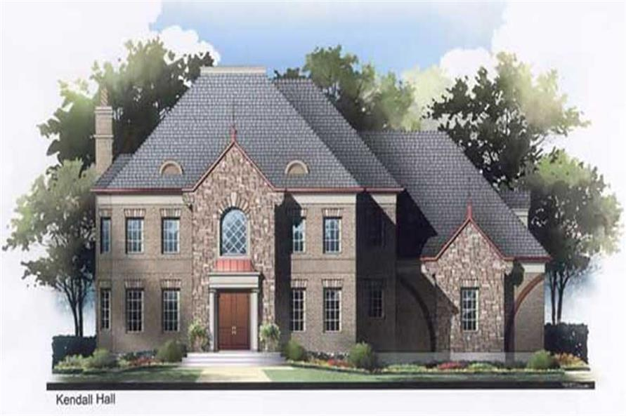 Main image for house plan # 17696