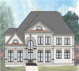 House Plan #106-1100