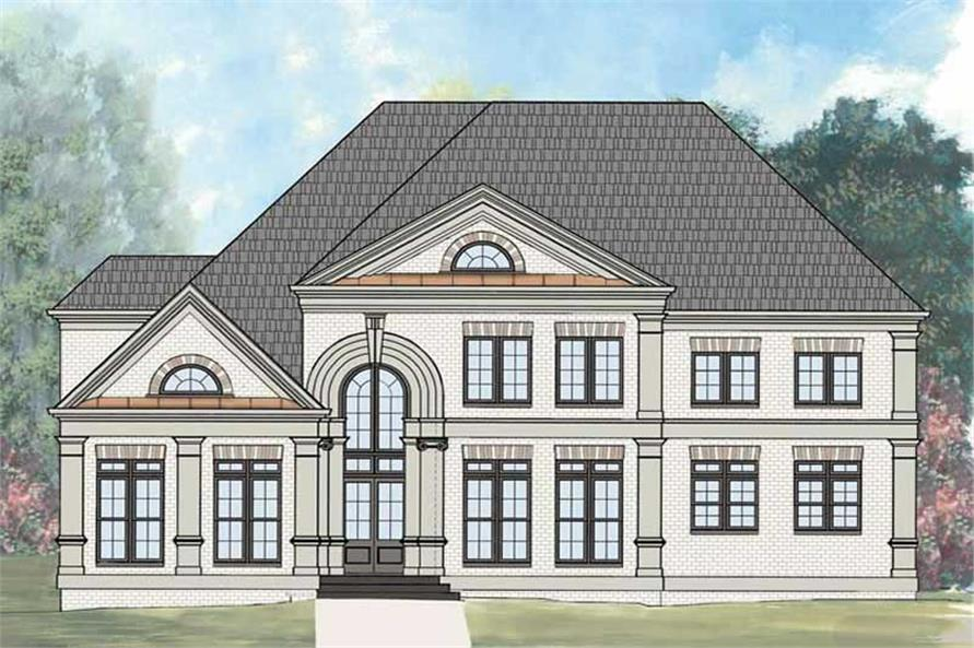 Main image for house plan #106-1100