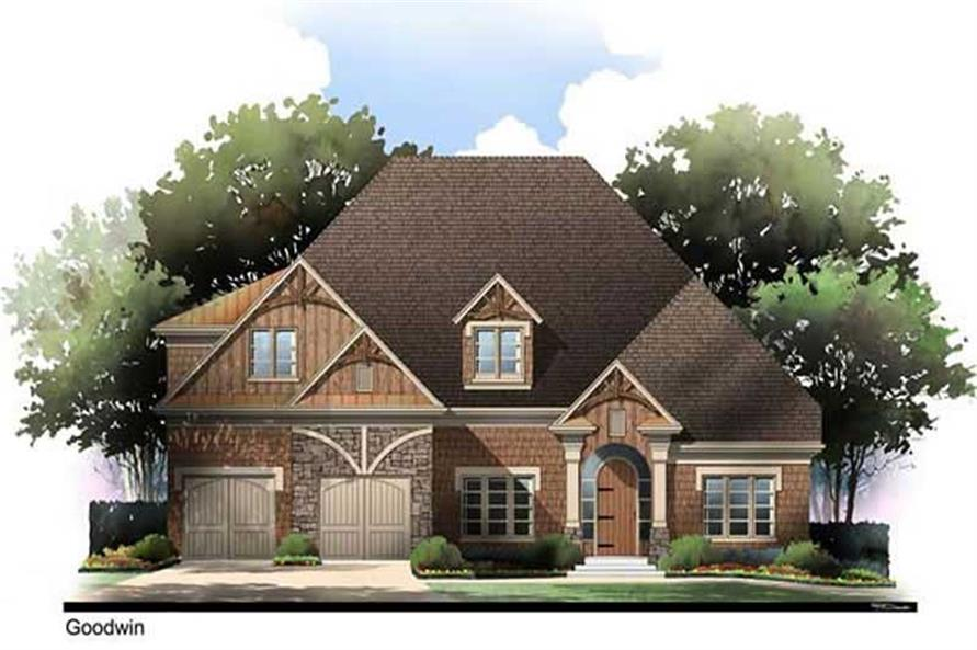 Main image for house plan # 17695