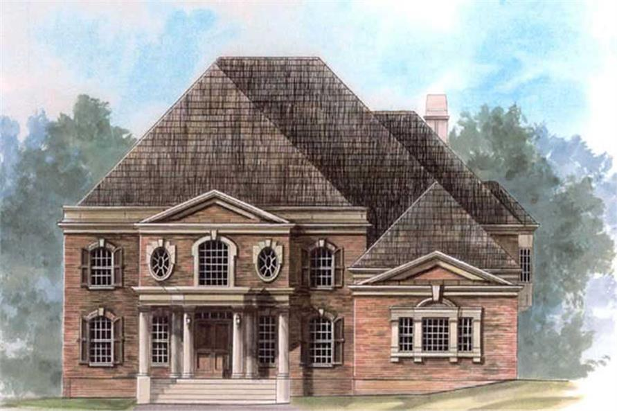 Main image for house plan # 16116