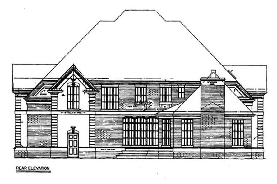 House Plan #106-1105